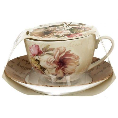 Filiżanka + spodek do herbaty kawy kalle porcelana marki Duo