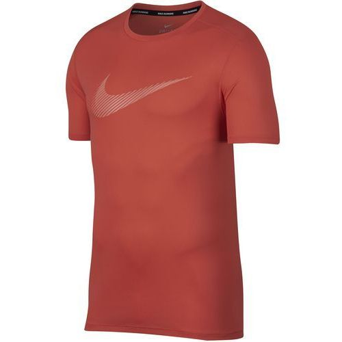 t-shirt męski m nk brt run top ss gx rush coral crimson bliss m marki Nike