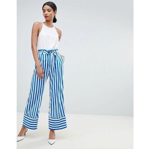Y.A.S High Waist Stripe Trouser - Multi