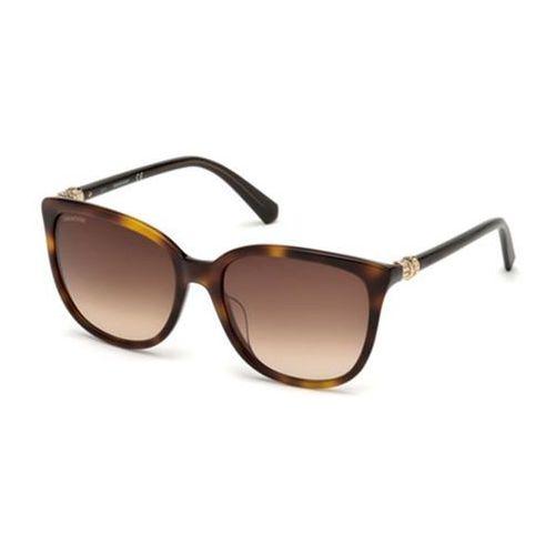 Okulary słoneczne sk0146-h 52g marki Swarovski