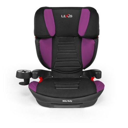 Milly Mally, Lexus, fotelik samochodowy, 15-36 kg, Violet