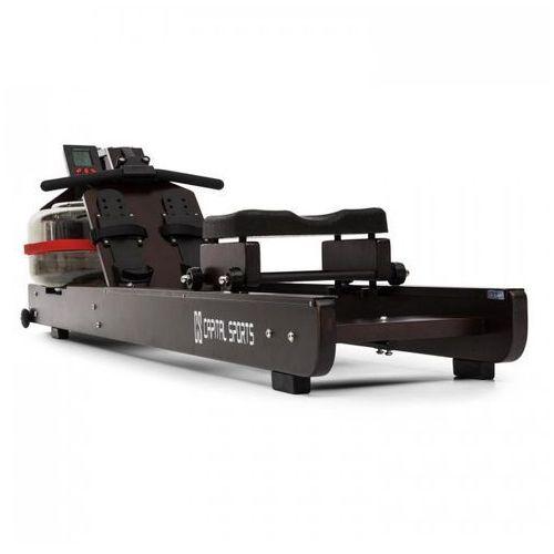 Stoksman wodny wioślarz treningowy 120cm wyświetlacz LCD ciemny buk