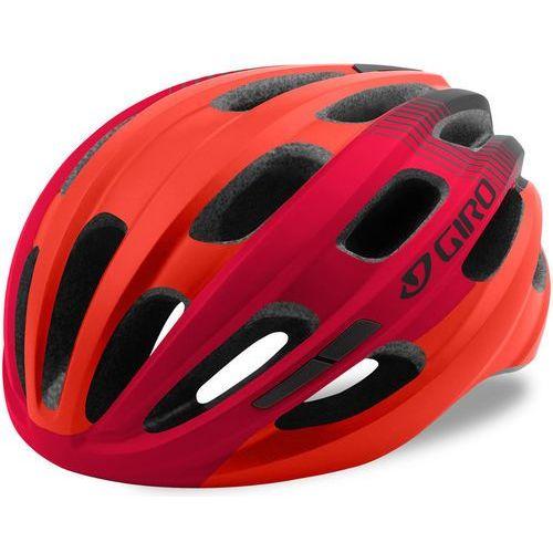 Giro Isode Kask rowerowy czerwony U / 54-61cm 2018 Kaski rowerowe (0768686072338)