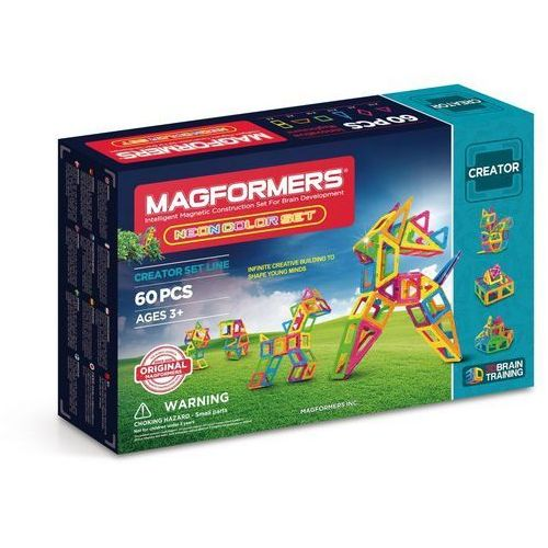 Klocki Magformers Neon Color Set 60