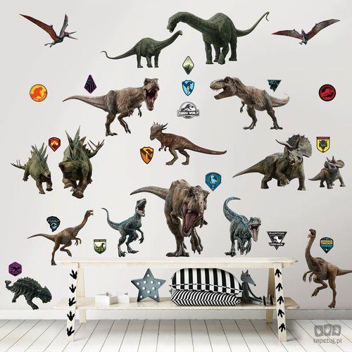Zestaw naklejek do dekoracji pokoju Jurassic World Upadłe Królestwo 45712 (5060107045712)