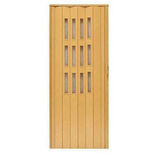 Drzwi harmonijkowe 001S 271 Jasny Dąb Mat 90 cm, GK-0081