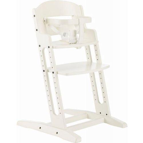 Baby dan Krzesełko do karmienia  danchair białe