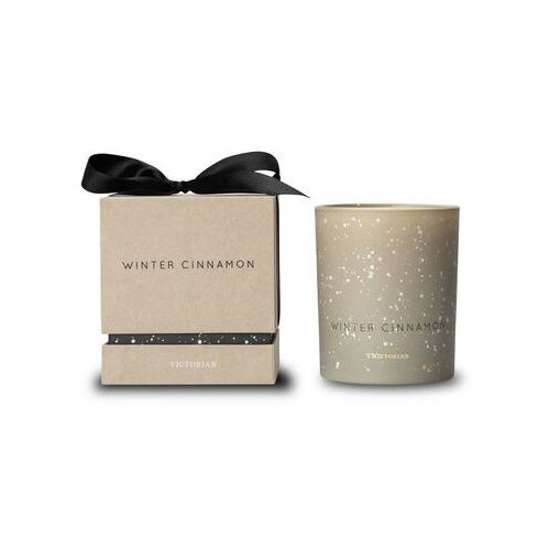 - christmas - świeca zapachowa - winter cinnamon: cynamon marki Victorian