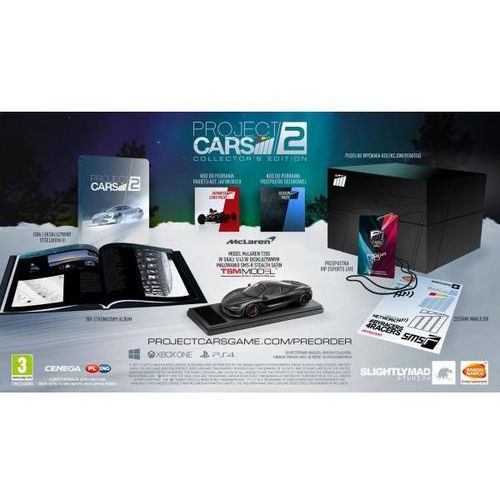Project cars 2 collectors edition marki Cenega