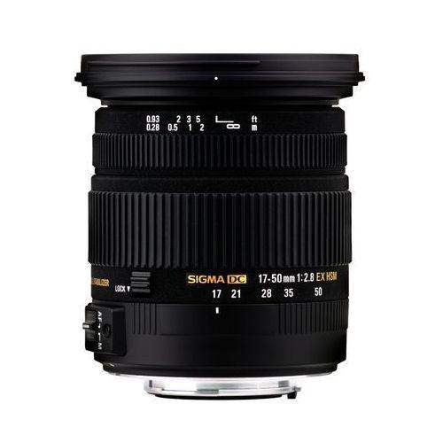 SIGMA 17-50 mm F2.8 EX DC OS HSM obiektyw mocowanie Nikon (0085126583552)