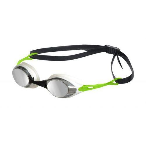 Arena  cobra mirror okulary pływackie zielony okulary do pływania