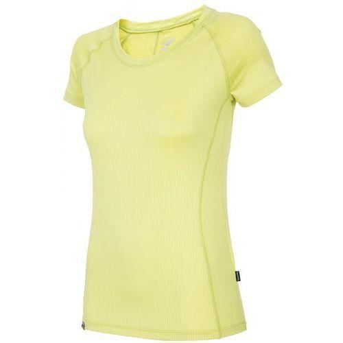 Damska koszulka rowerowa t4l16 rkd002 limonka s marki 4f