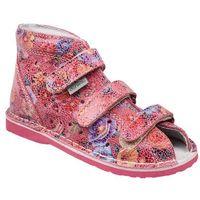 Kapcie profilaktyczne buty DANIELKI T125L T135L Fantazja - Różowy ||Fuksja ||Flower ||Multikolor