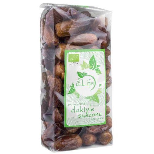 BIOLIFE 1kg Daktyle suszone bez pestki Bio | DARMOWA DOSTAWA OD 200 ZŁ - produkt z kategorii- Bakalie, orzechy, wiórki