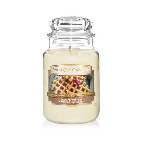 Yankee candle belgian waffles 623g duża świeca szybka wysyłka infolinia: 690-80-80-88 (5038581064086)