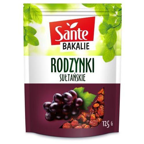 Rodzynki sułtańskie 125 g marki Sante