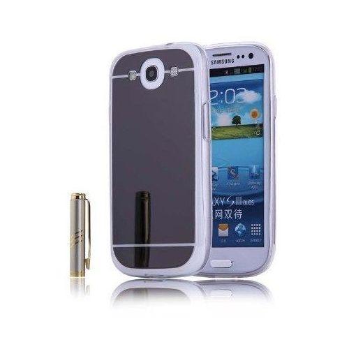Slim Mirror Case Czarny | Etui dla Samsung Galaxy S3 - Czarny