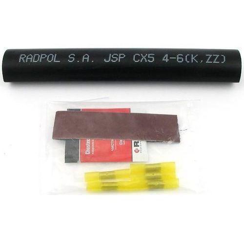 Radpol mufa kablowa zestaw naprawczy jsp-cx 5x4-6