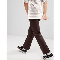 Dickies 873 Work Pant Chino In Straight Fit In Brown - Brown