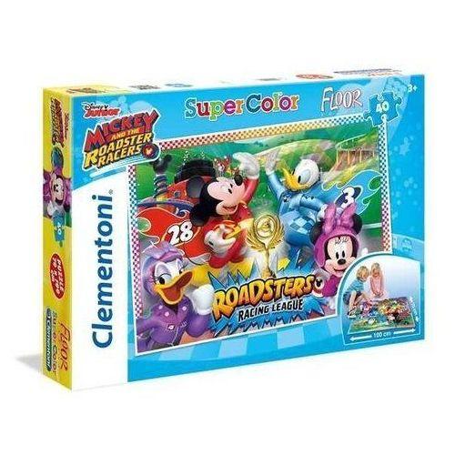 40 elementów podłogowe Super Kolor Miki i Raźni Rajdowcy