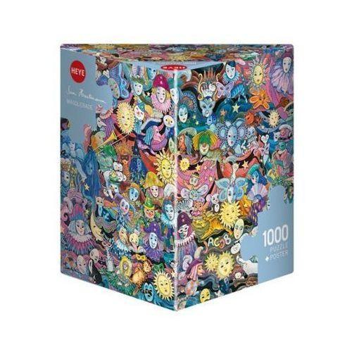 OKAZJA - Heye 1000 elementów maskarada (4001689297893)