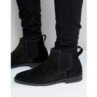 Kg by kurt geiger guildford chelsea boot in black suede - black, Kg kurt geiger