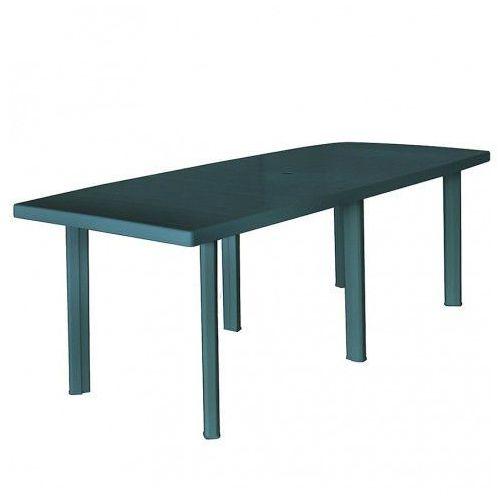 Elior Praktyczny stół ogrodowy imelda 3x - zielony