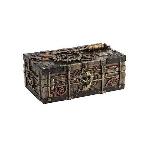 Veronese Steampunk szkatułka z zamkiem (wu77196a4)