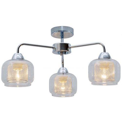 Plafon lampa sufitowa Candellux Ray 3x40W E14 chrom 33-67081 (5906714867081)