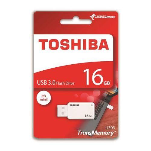 Pendrive u303 16gb usb 3.0 white (thn-u303w0160e4) darmowy odbiór w 20 miastach! marki Toshiba