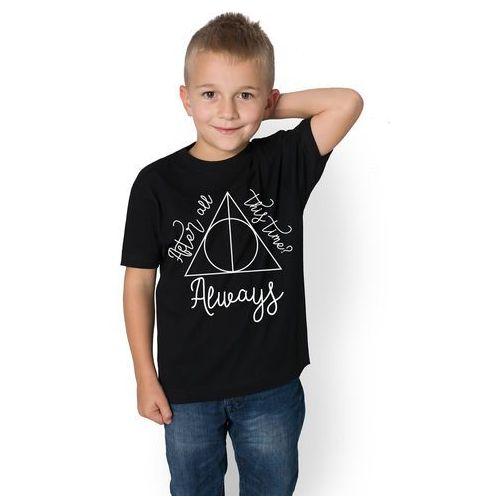 Koszulka dziecięca Symbol of death 4, kolor czarny