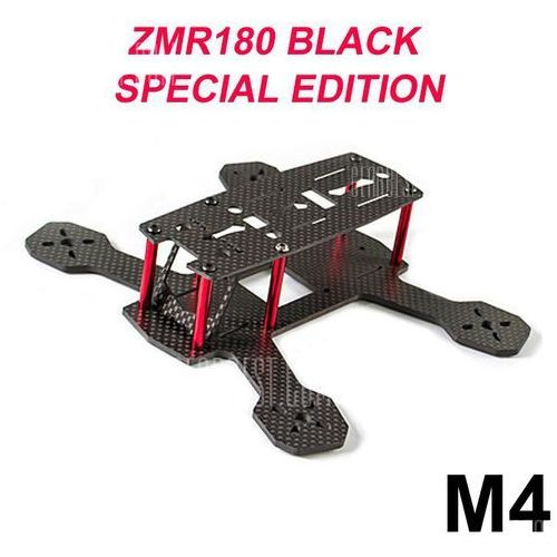 Gearbest Fpvmodel zmr180 m4 4mm carbon fiber frame kit quadcopter fittings with pcb board