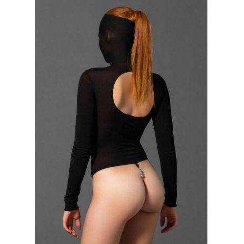 Legavenue Masked teddy beaded g-string