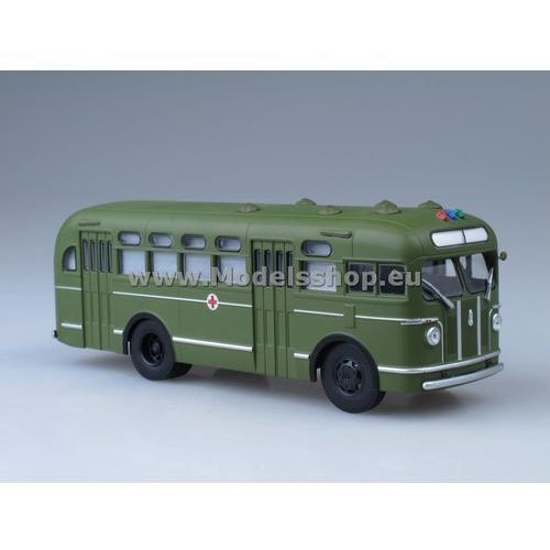 Army bus zis-155 sanitarian (green) marki Ssm