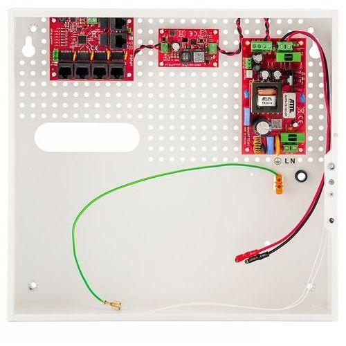 Switch poe 5-portowy z zasilaniem buforowym atte ipups-5-11-f marki Eltrox