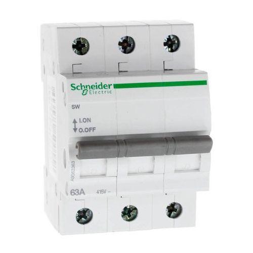 Rozłącznik izolacyjny modułowy SW 3P 63A 415VAC A9S62363 Schneider Electric (3606480500558)