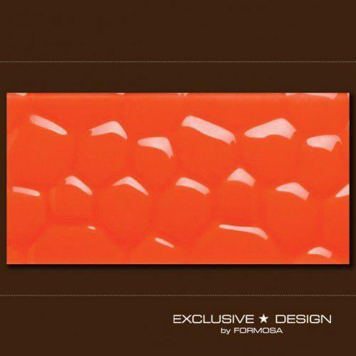 Midas płytka 3d cobble orange 600x300x8 mm a-tgl08xx-009