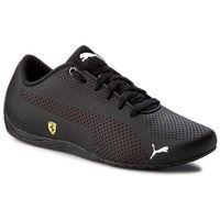 Puma Sneakersy - sf drift cat 5 ultra 305921 02 ouma black/rosso corsa/black