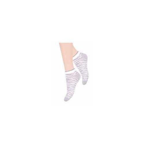Steven Stopki skarpetki szaro/białe