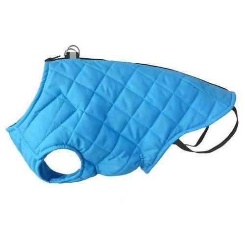 Chaba kurtka pikowana dla psa z odblaskiem kolor niebieski różne rozmiary
