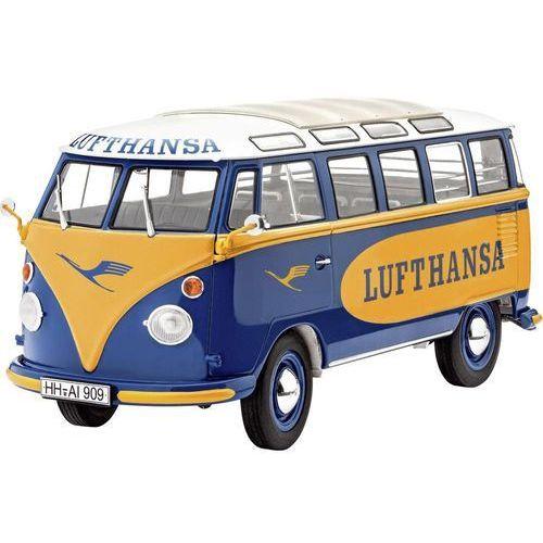 Model samochodu do sklejania Revell 07436, VW T1 Samba Bus Lufthansa, 1:24