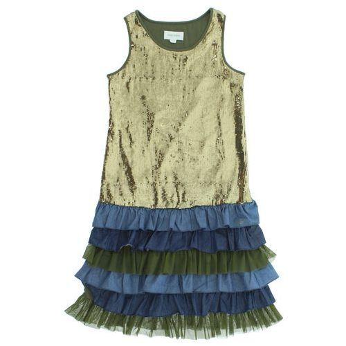 Diesel Sukienka dziecięca Niebieski Zielony Złoty 16 lat
