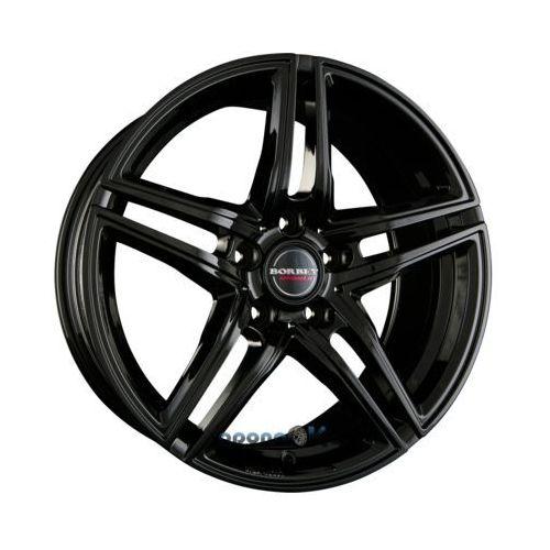 xrt black glossy einteilig 8.50 x 19 et 30 marki Borbet