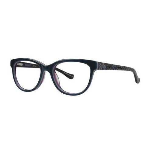 Kensie Okulary korekcyjne glamour bl/gn
