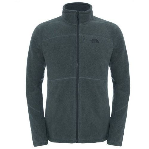 Polar shadow 200 full zip men - fuse box grey / black heather, The north face