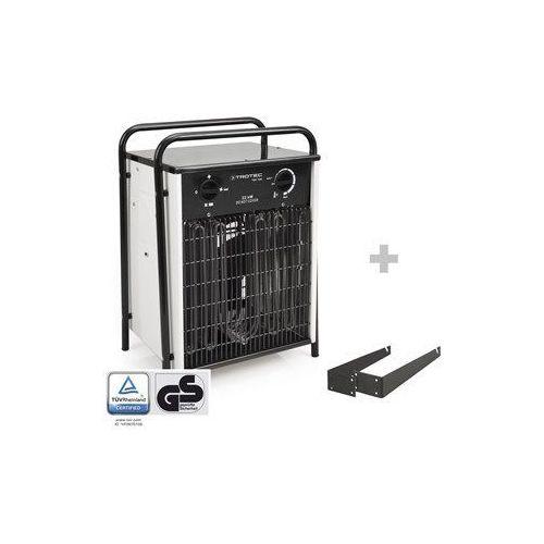 Nagrzewnica elektryczna TDS 100 biała + Mocowanie na ścianę i pod sufit (4052138021705)