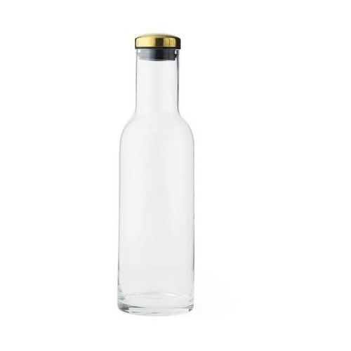 Karafka szklana Norm mosiądz, 4680839