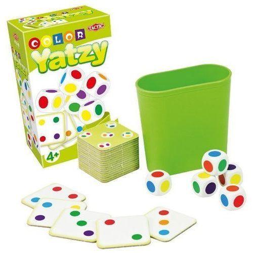 gra kolorowe yatzy, podróżna marki Tactic