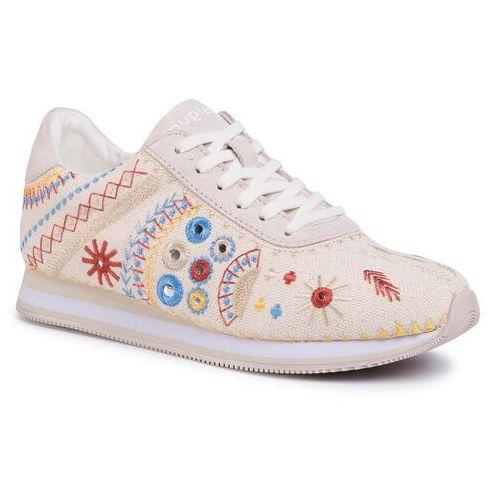Desigual Sneakersy - shoes pegaso new exotic 20sska07 9020
