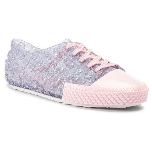 Półbuty - polibolha sneaker ad 32435 clear glitter/pink/white 53475 marki Melissa